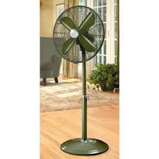 holmes metal stand fan holmes hasf1710mgn um 16in green metal stand fan