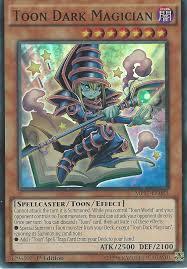 yu gi oh card toon dark magician super rare mp17 en083 1st edition