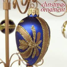 rupola rakuten global market ornament oval blue