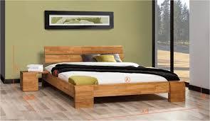 chambre en chene massif lit design en chene massif chambre à coucher haut de gamme