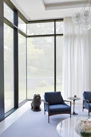 living room mid century modern roman shades oak flooring ideas