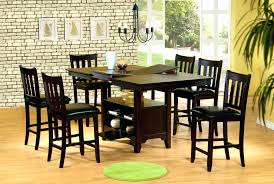 bar height dining table with leaf counter sets bench set costco