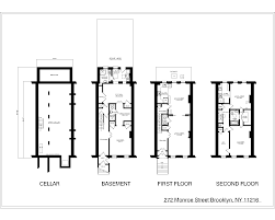 nyc brownstone floor plans charming 3 story 2 family brownstone bls realty inc