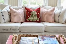 Ikea Slipcover Sofa by Savvy Southern Style A New Slipcover In The Sunroom