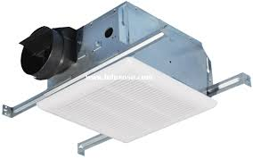 Bathroom High Performance Bathroom Exhaust Fans In White For