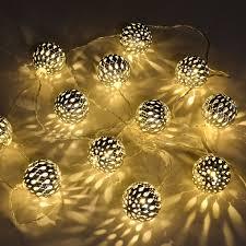 Best Solar String Lights by 12 Led Solar Ball Fairy String Lights Best Solar Garden Lights
