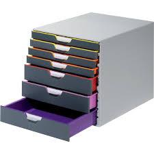 cassettiere ufficio cassettiere da scrivania varicolor皰 durable grigio e multicolore