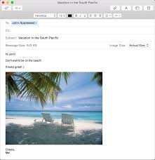 Sending Resume Email Message Use Mail On Your Mac Apple Support