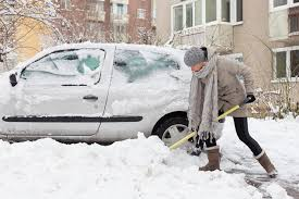 forget shoveling snow parking bans and for a parking spot