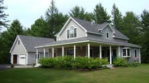two farmhouse custom farm house maine contractor and farm home builder