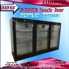 glass door bar fridge perth glass door bar fridges ebay
