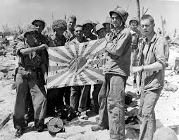 World War 2 Us Flag This Day In Wwii History Feb 17 1944 U S Troops Land On