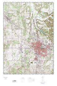 Indiana Map Us Bloomington Indiana Map Adriftskateshop