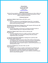 Med Surg Resume Sample Resume For Clinical Nurse Manager