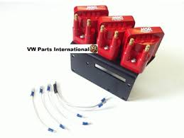 vw golf mk2 mk3 vr6 msd coil pack kit with 10mm high performance