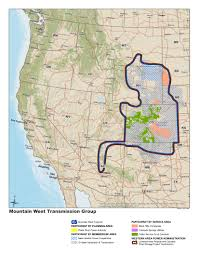 Strategic Group Map Mountain West Transmission Group Initiative