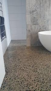 Concrete Floor Bathroom - concrete polished bathrooms eco grind