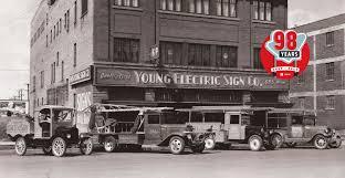 yesco topimage historic trucks sign 2 jpg