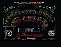 xs nightclub floor plan