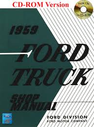 1959 ford truck shop manual ford motor company david e leblanc