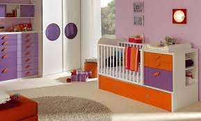 chambre bebe orange 35 idées originales pour la décoration chambre bébé