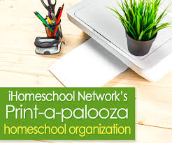 free home school print a palooza free homeschool printables ihomeschool network