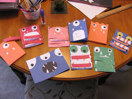 Kids Halloween Birthday Party Invitations by Homemade Monster Invitations Kid Stuff Pinterest Monster