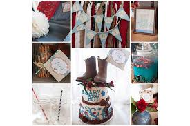 cowboy baby shower ideas best baby shower decoration ideas you can try