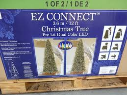 ez connect 12ft prelit led tree
