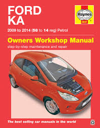 ford ka 09 14 haynes repair manual haynes publishing
