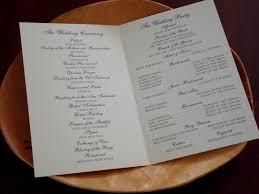 Folded Wedding Programs Savannah Wedding Flyoung Studio