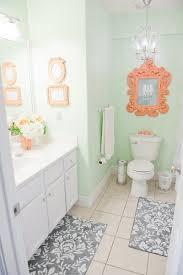 Orange Bathroom Ideas Colors Coral Bathrooms The Dream Made Real Coral Bathroom Mint Coral