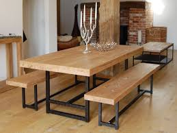 rustic dining table with bench beautiful room round tables modern rustic dining table is also a kind of wonderful dark brown black wood design furniture