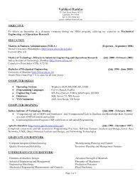 resume objective statement engineering amazing chic sample resume