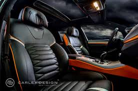 Custom Car Interior Design by Bmw 5 Series U0027the Ripper U0027 Custom Interior From Carlex Design