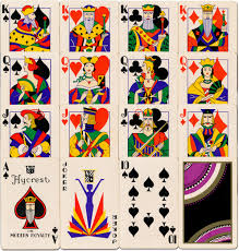 Joker Playing Card Designs Hycrest Modern Royalty The World Of Playing Cards