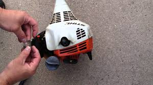 stihl fs55 primer bulb replacement how to replace a stihl fs45