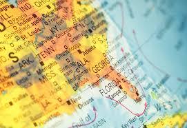 Southeast Usa Map by A Tree Remembers Uu World Magazine