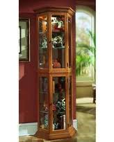 Used Curio Cabinets Alert Oak Curio Cabinets Deals