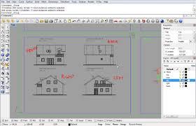 Cad House Modeling A Simple House Part 1 Rhinoceros 3d Help Tutorials