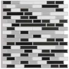 Peel And Stick Kitchen Backsplash Tiles by Backsplash Tile For Kitchen Peel And Stick Self Stick Glass