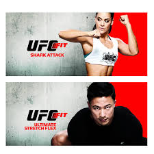ufc fit 12 week home training fitness exercise program dvd set