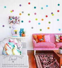 Best Polka Dot Home Ideas Images On Pinterest Polka Dot - Polka dot wall decals for kids rooms