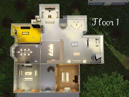 twilight cullen house cullen house floor plan hoke twilight plans skylab sims mod the