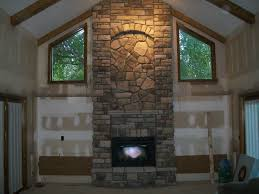 bucks county limestone and dressed fieldstone with marsh hearth