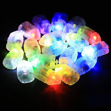 Glow In The Dark Lights Glow Balloons Ebay
