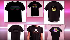 custom light up t shirts light up t shirt to purchase http www myflashwear co za custom
