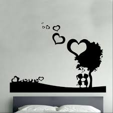 wall art ideas design iron forged love wall art industrial metal wall art ideas design couple romantic love trees heart shaped illustration bedrooms decal artwork decor incredible