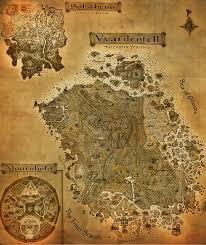 Oblivion Map The Elder Scrolls Iii Morrowind A3 Map By Crashelements On Deviantart