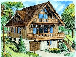 chalet cabin plans small vacation cabin plans a image for house plan small